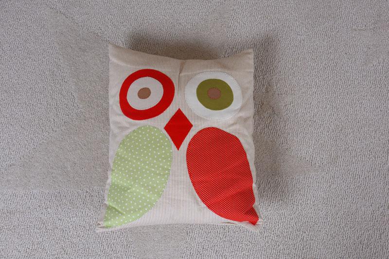 Renkli Baykuş Yastık Mobilya ürün fotoğrafı